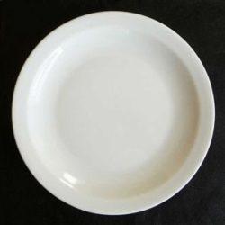 Amalie tallerken, 17 cm - 26,5 cm med smal fane