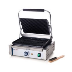 "Kontaktgrill / Klemgrill ""Panini"", single - Hendi, 2200W - 263655"