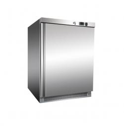 Leje af 200 Liters køleskab i rustfrit stål.