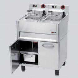 Leje af Elektrisk friture, 700-serie, gulvmodel m/ 2 kar