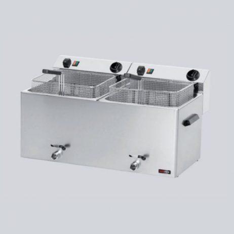 Leje af Elektrisk friture, bordmodel m/ 2 kar