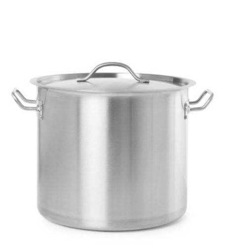 Leje af Gryde m/ låg i rustfrit stål - 98 Liter