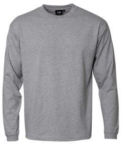 """Kentaur """"Pro Wear"""" langærmet T-shirt i grå melange - Flere størrelser"""