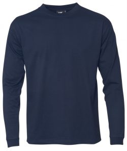 """Kentaur """"Pro Wear"""" langærmet T-shirt i navy blå - Flere størrelser"""